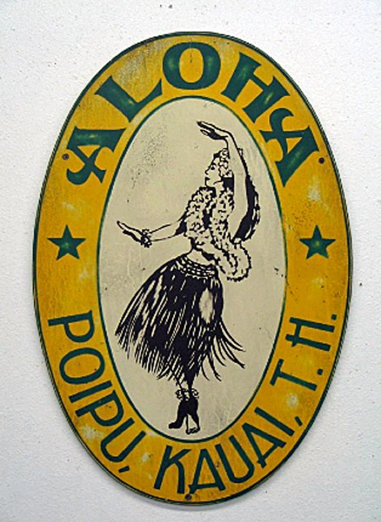 Aloha Hula Girl (Poipu) by Steven Neill