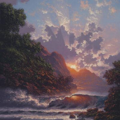 """Blush Of Early Dawn 9x12"""" by Roy Tabora"""