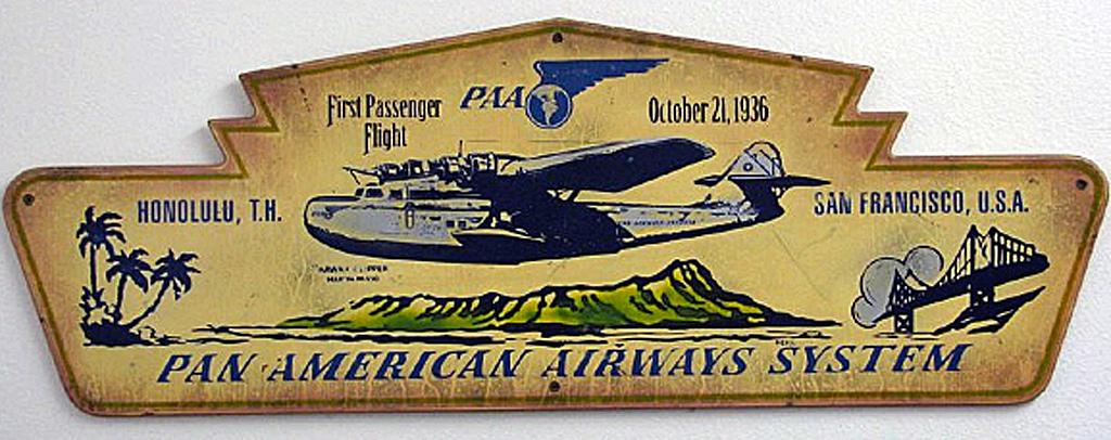 Pan Am 1st Passenger Flight by Steven Neil