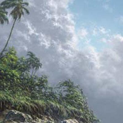 "Shades of Paradise 10""x20"" by Roy Tabora"