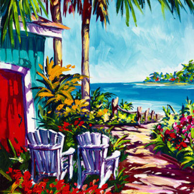 "Cinnamon Bay 8x10"" by Steve Barton"