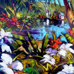 Garden Falls by Steve Barton