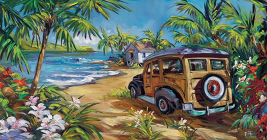 Surf Island by Steve Barton