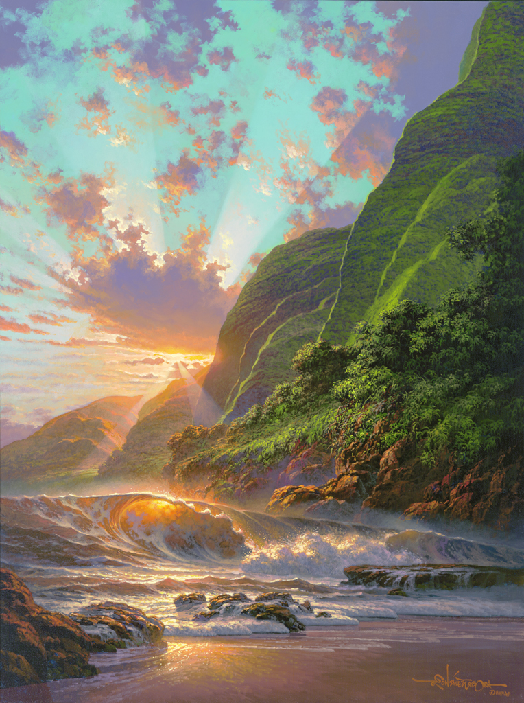 Divine Splendor 27x37 & 30x40 by Roy Tabora