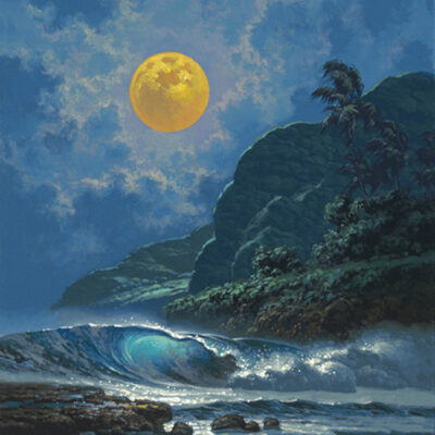"Glistening Through Midnight 12x16"" by Roy Tabora"