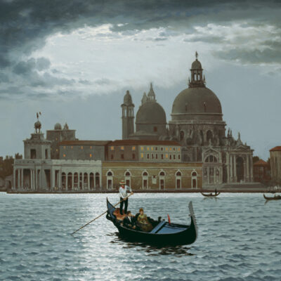 Twilight At Venice by Rino Gonzalez
