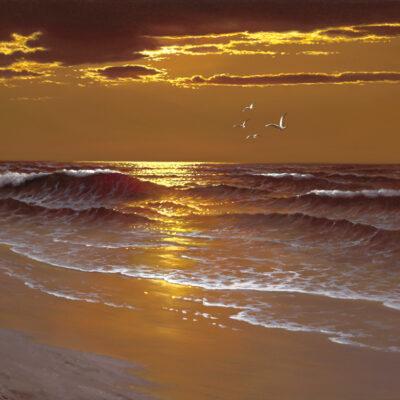 "Warm Summer Night 16x20"" by Rino Gonzalez"