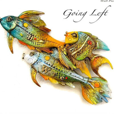 Fishes Going Left by Nano Lopez