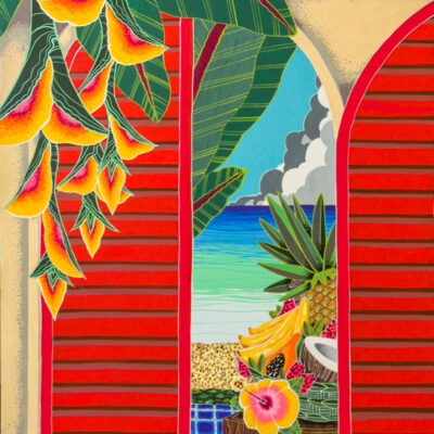 Red Gate to Moloa'a by Mei