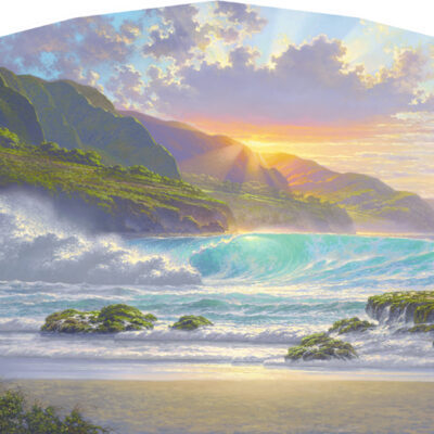 Reminiscence 24x48 by Roy Tabora