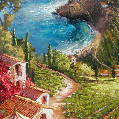 Amalfi Vineyard by Steven Quartly