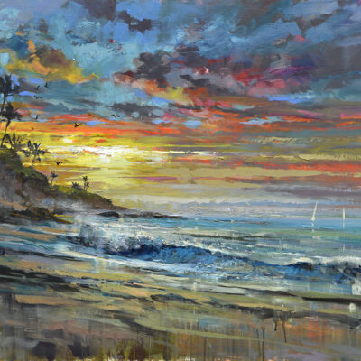 Laguna Sunrise by Steven Quartly