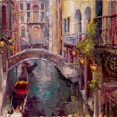 Lost In Venice by Steven Quartly