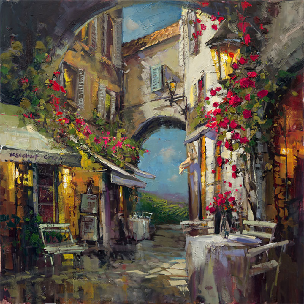 Siena Rain by Steven Quartly