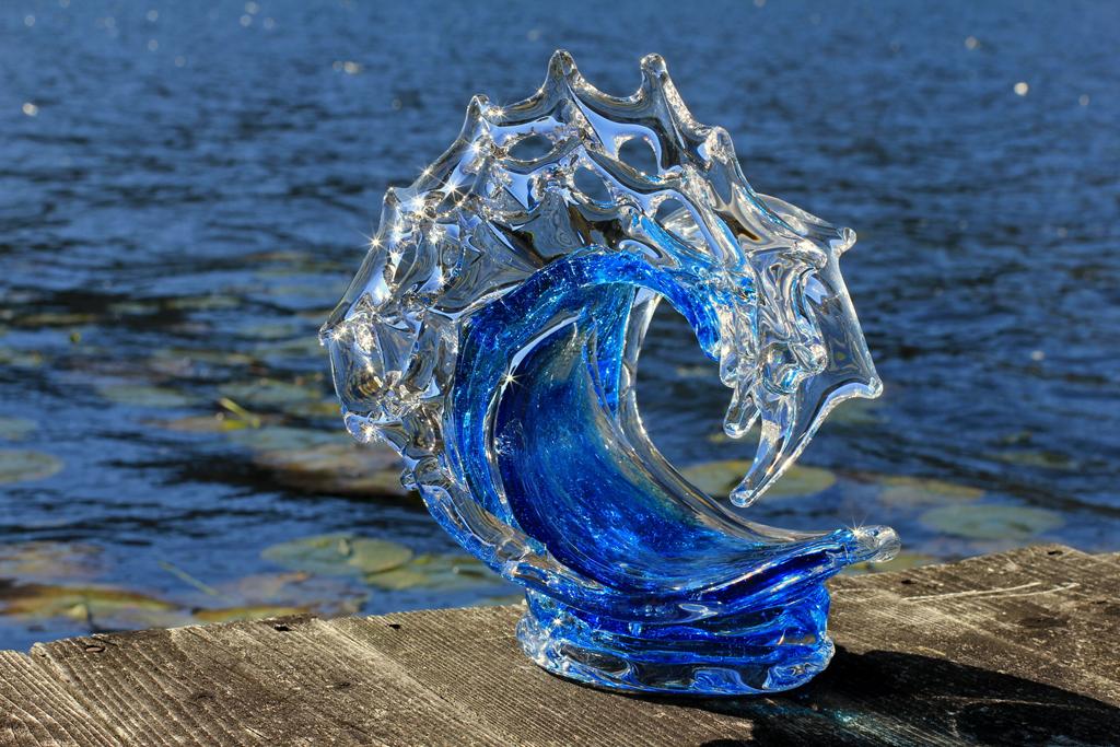 Tsunami (Spring Water) by David Wight