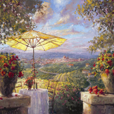Tuscany Twilight by Steven Quartly