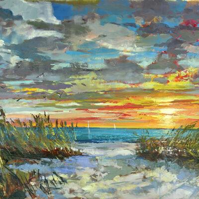 Forever Sunset by Steven Quartly