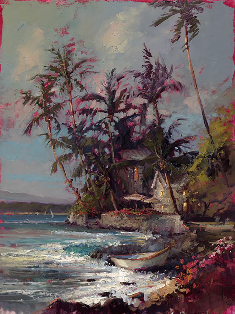 Misty Seaside by Steven Quartly