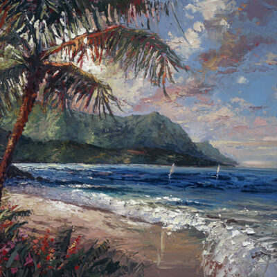 Hanalei Bay by Steven Quartly
