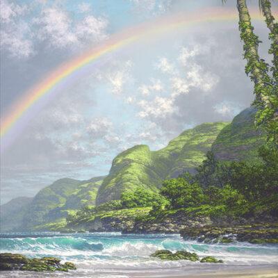 Isle Of Hues 18x24 by Roy Tabora