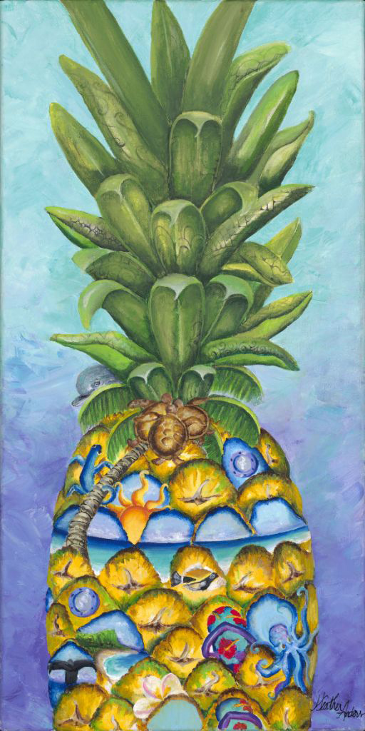Pineapple Express by Heather Anders