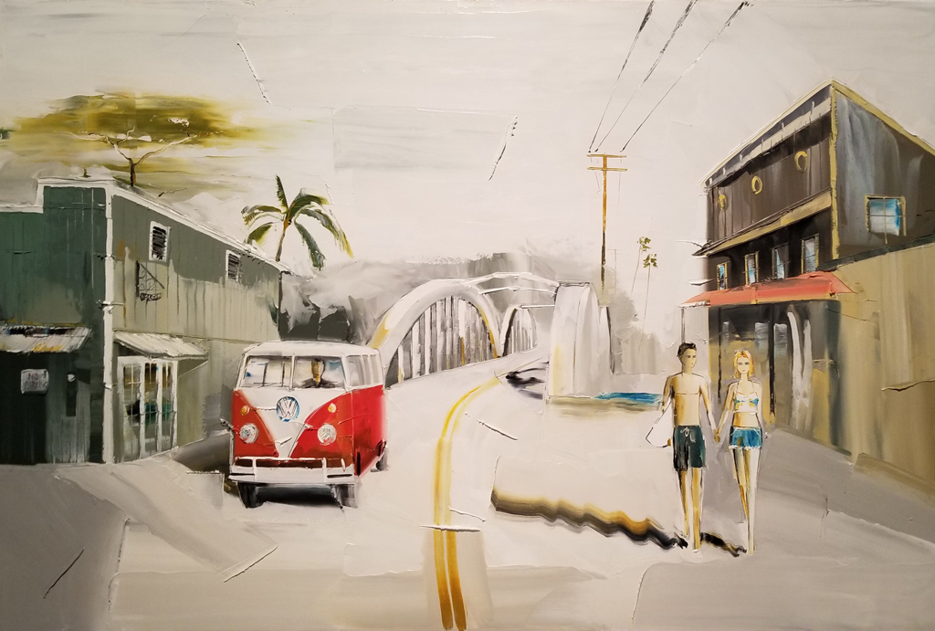Cruising Through Haleiwa by Chuck Jopseph
