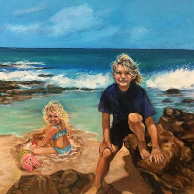 Day At The Beach by Mimi Ozawa
