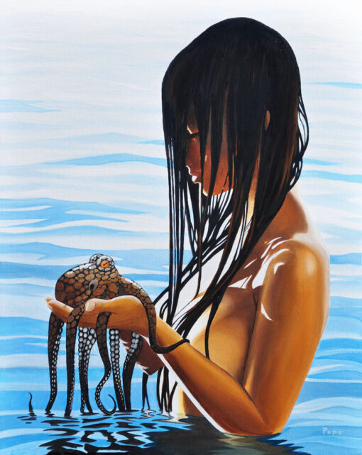 Amy and the Octopus by Pepe