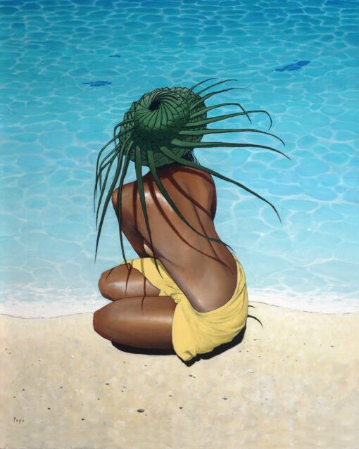 Coconut Frond Hat by Pepe