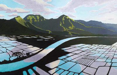 Hanalei Rice Fields by Pepe