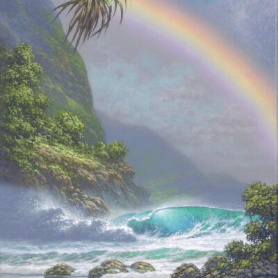"Island To Cherish 9x12"" by Roy Tabora"