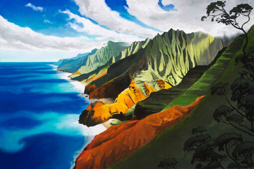 Napali Overlook by Pepe
