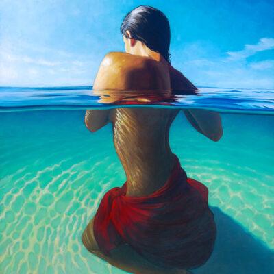 Anini Lagoon 24x30 by Pepe