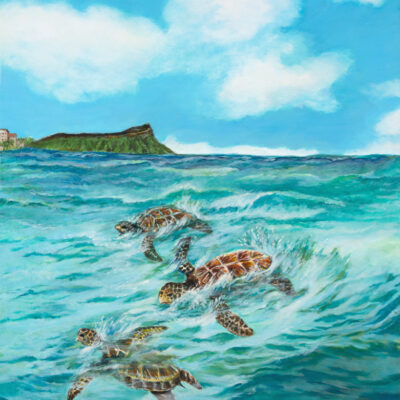 A Honu Adventure by Mimi Ozawa