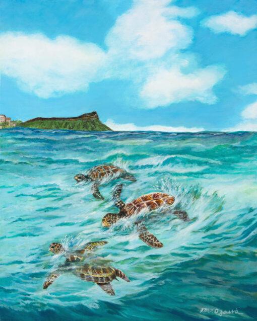 A Honu Adventure by Mimi Ozawa