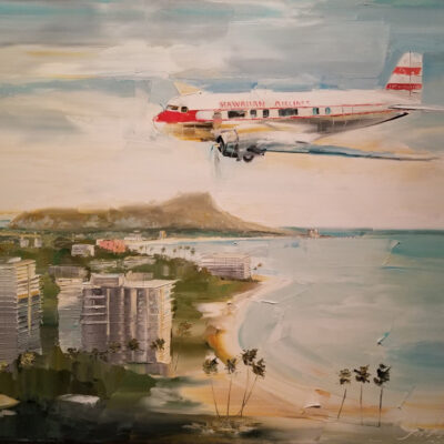"Flying Over The South Shore 24""x30"" by Chuck Joseph"