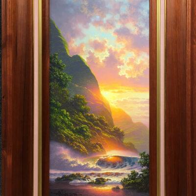 Iridescent Splendor 12x24 by Roy Tabora