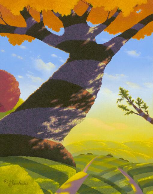Autumn Rush 11x14 by Michael Provenza