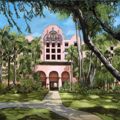 Royal Hawaiian 30x40 by Mimi Ozawa