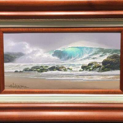 Surging At Dawn 10x20 by Roy Tabora