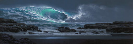 Breaking Surge 12x36 by Roy Tabora