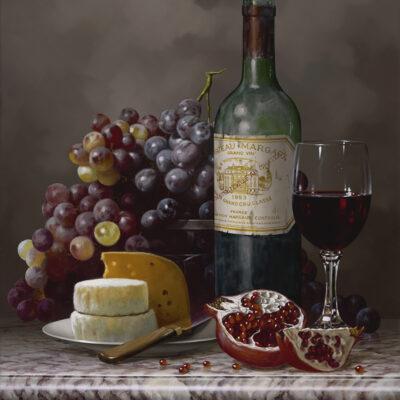 Evening Feast 14x18 by Rino Gonzalez
