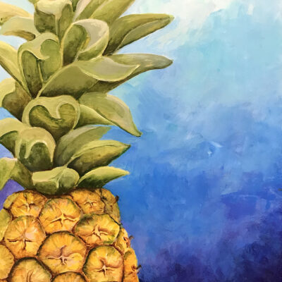 Fresh Pineapple by Heather Anders