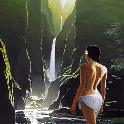 Hidden Waterfall by Pepe