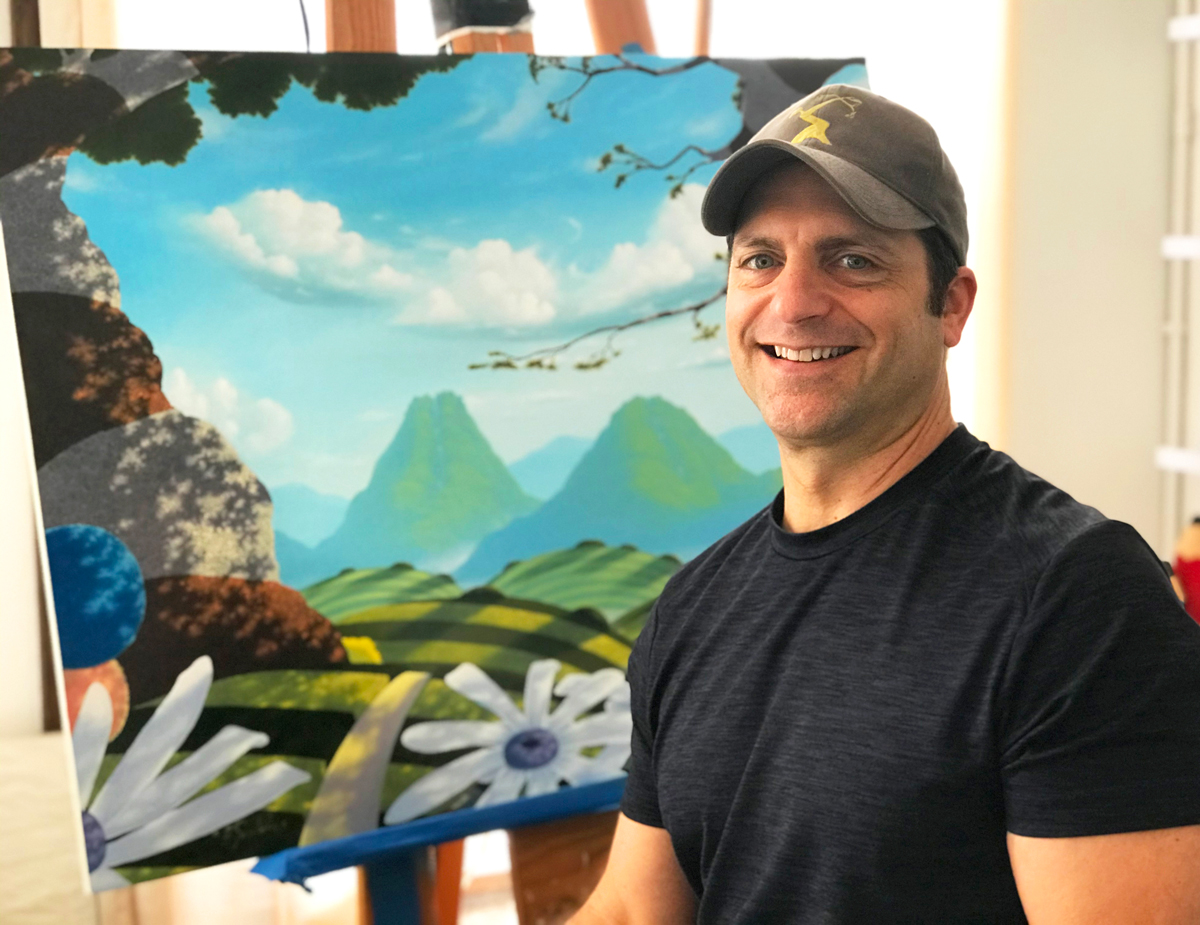 Photo of Michael Provenza, Artist