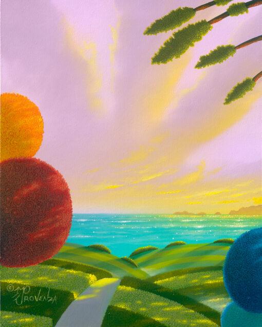 Allium Bay 8x10 (oil on panel) by Michael Provenza