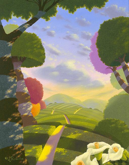 Follow the Sun 11x14 by Michael Provenza