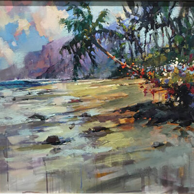 Shadows Of Napali by Steven Quartly