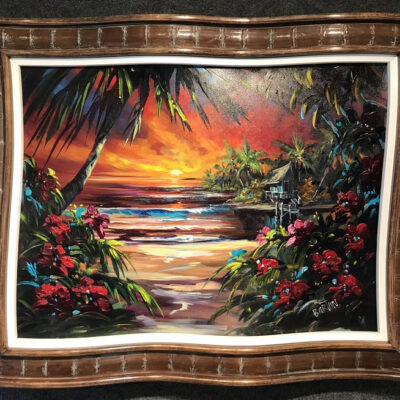"""Tropical Days 30x40"""" by Steve Barton"""