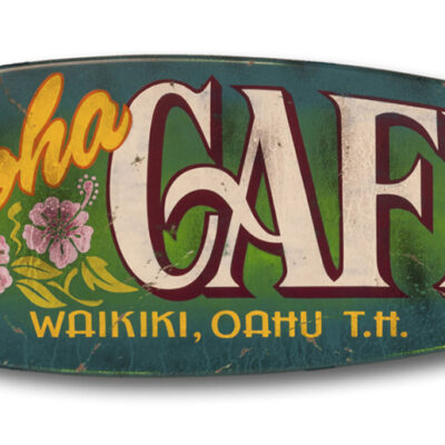Aloha Cafe (green) by Steven Neill